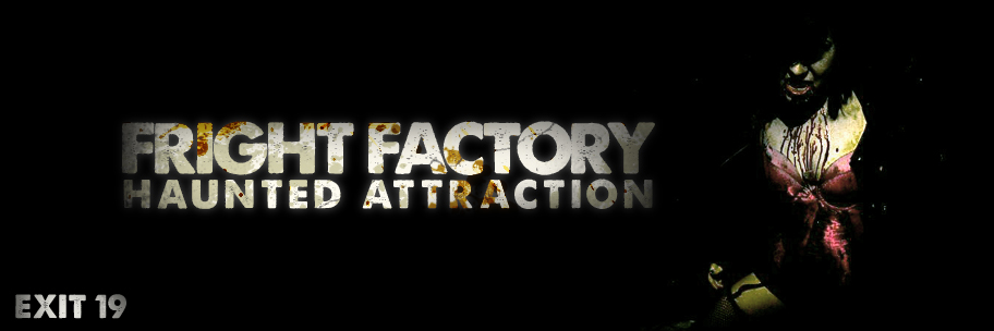 Fright Factory digital billboard